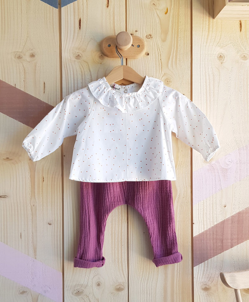 pantalon sarouel bebe fille ensemble tenue nouveau ne cadeau naissance vetement