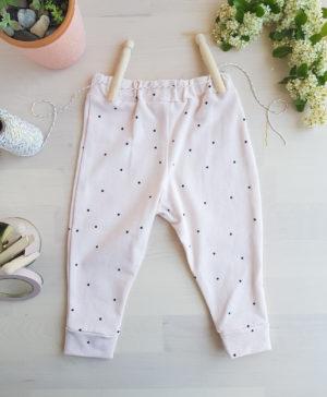pantalon bebe bio, legging bebe rose, vetement bebe bio, mode made in france, createur enfant, createur vetement france, bilboquet, naissance fille, cadeau naissance, slowfashion