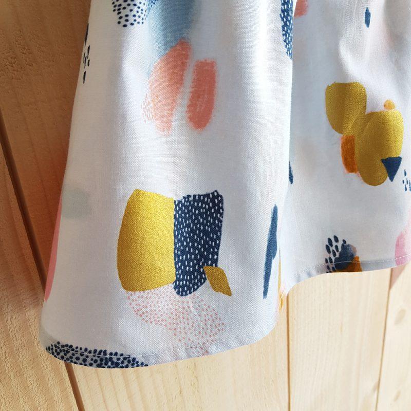 jupe courte elastique fronce taille france vetement bebe enfant lyon bilboquet
