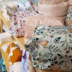 trousse oiseaux, bilboquet, made in france, cadeau naissance, creation francaise, cadeau femme, coton lavables, association les petites tricolores