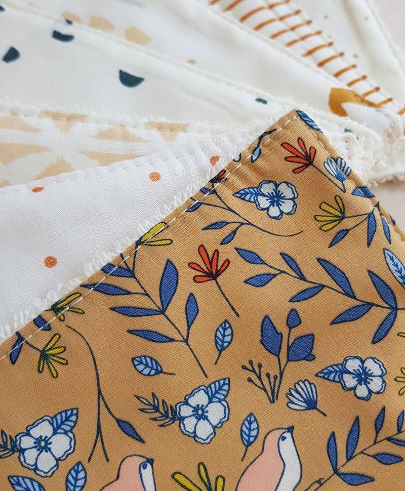 cotons lavables couche bebe naissance change tapis lyon bilboquet