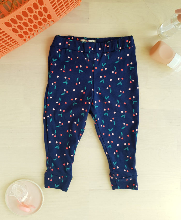pantalon bébé legging cadeau fille ensemble createur