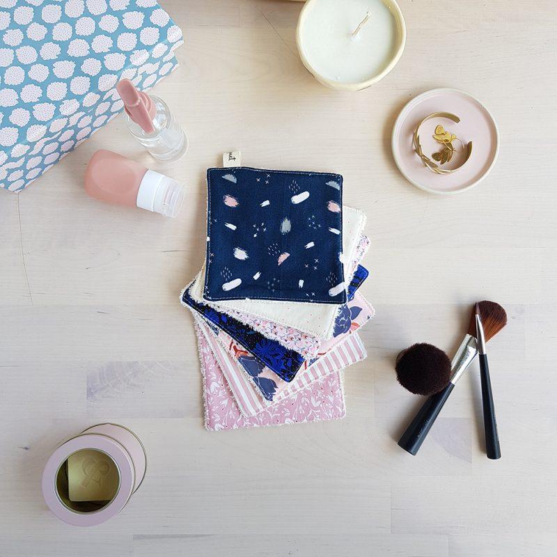 cotons lavables lingette cadeau femme pas cher createur idee originale