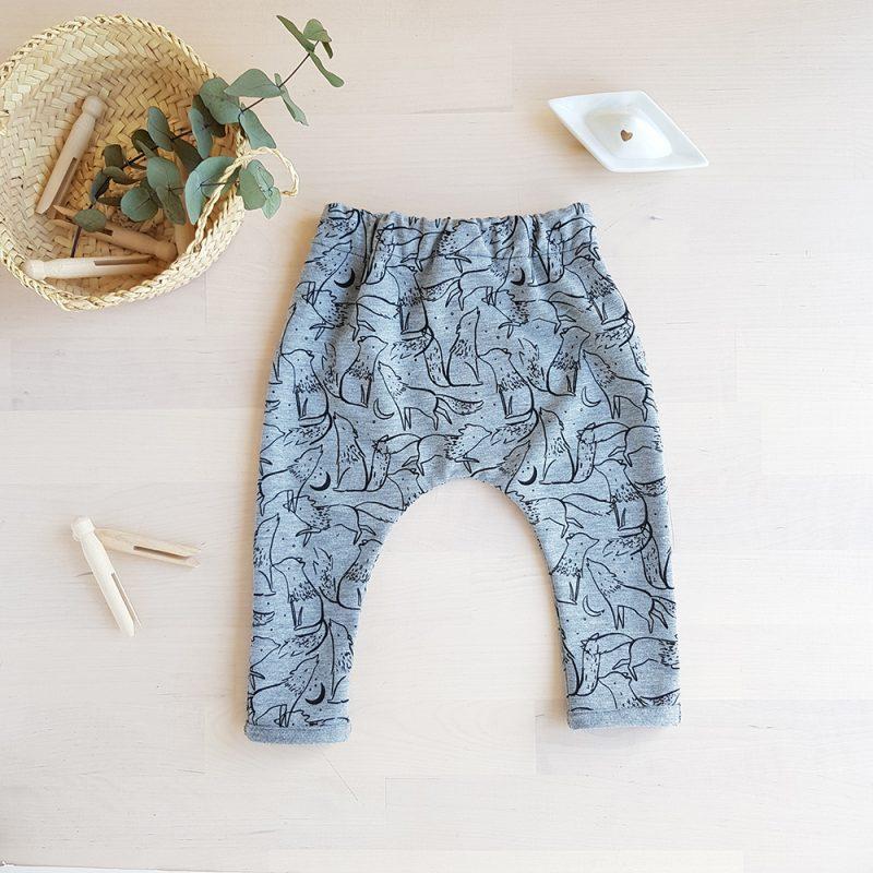 pantalon bebe vetement fille garcon enfant sarouel createur petite marque cadeau naissance originaux