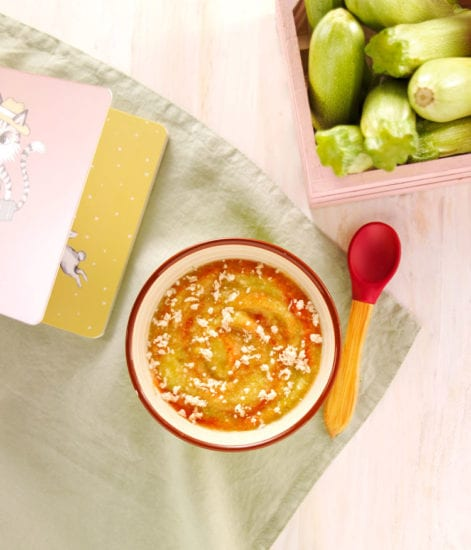 repas bebe diversification alimentaire puree idee recette semoule